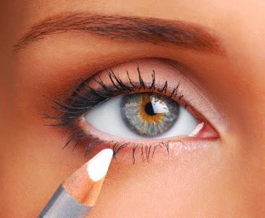 triki kosmetyczne powiększanie oka