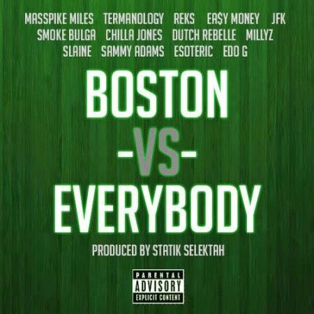 Statik Selektah ft. Various Artists – Boston Vs. Everybody Lyrics