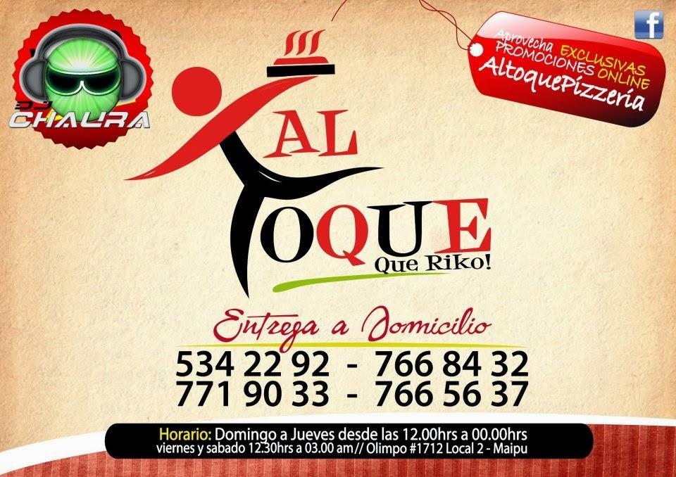 """Al Toque Pizza """"Maipu"""""""