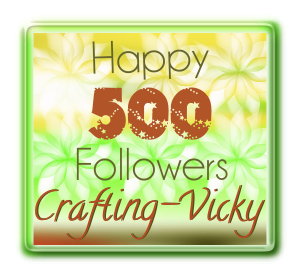 Congrats to Crafting Vicki