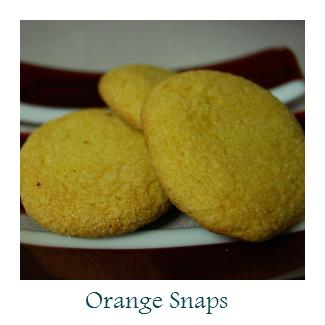 Orange Snaps