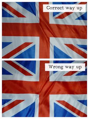 Union Flag Correct Way Up