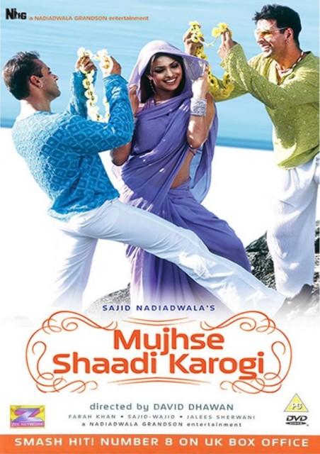 MUJHSE SHAADI KAROGI (2.004) con SALMAN KHAN + Vídeos Musicales + Sub. Español  MSK-2004-BRRip-cover