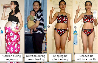 lose weight for women after baby