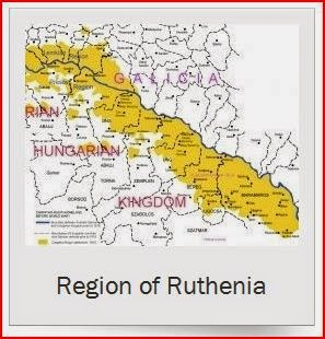 region of ruthenia map