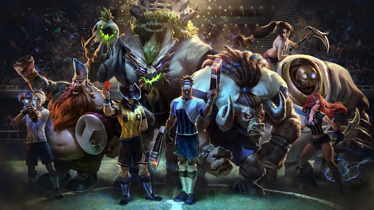 league of legends all football skins