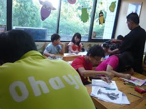 OHAYO Drawing School @ SCTV