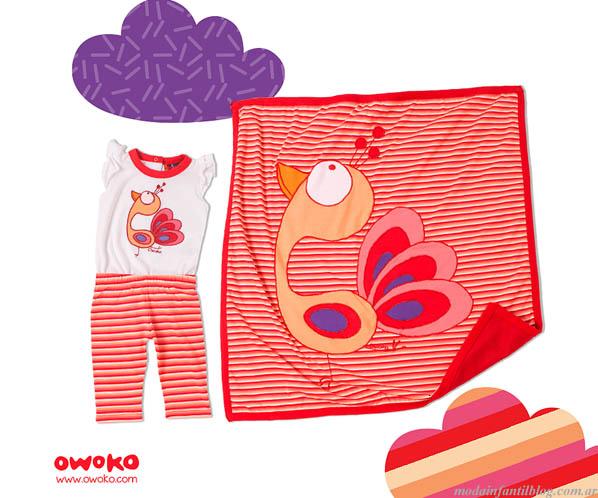 ropa para niñas owoko verano 2014