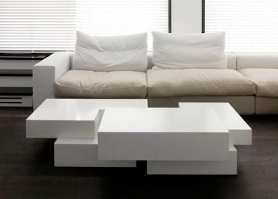 Modern duplex apartment complex interior design for Complex table design