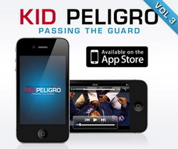 Kid Peligro's Iphone App Passing the Guard