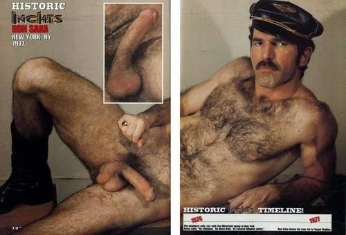 Suspirei com este bigodudo peludo - que homem, que macho!