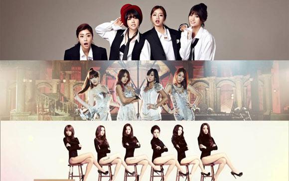 Girlgroup K-Pop ''hot'' hơn nhờ hình tượng sexy 1