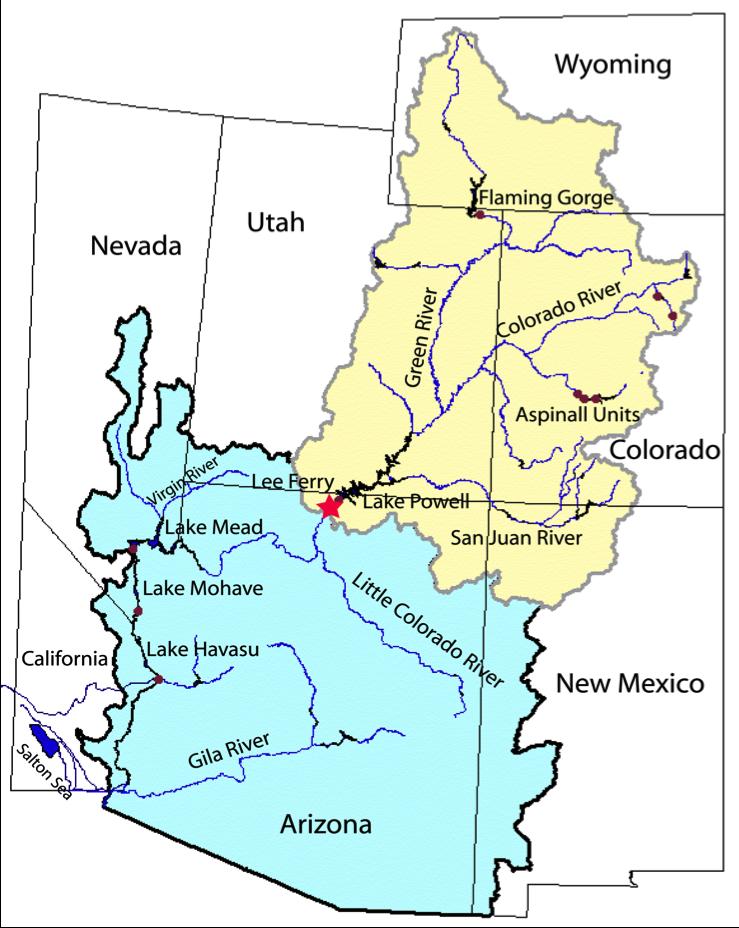 Water Shortage in the Colorado River Basin