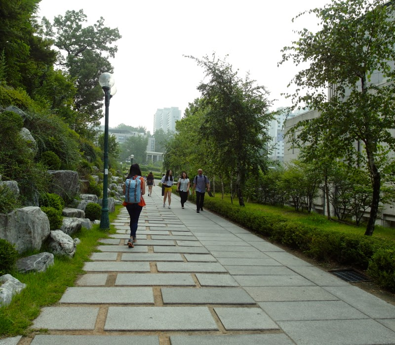 Ewha University Summer Studies Travel Seoul Edae lunarrive singapore