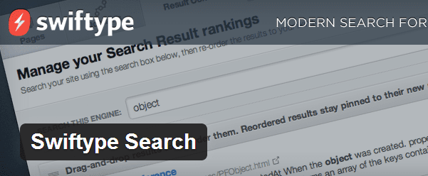 Swiftype Search