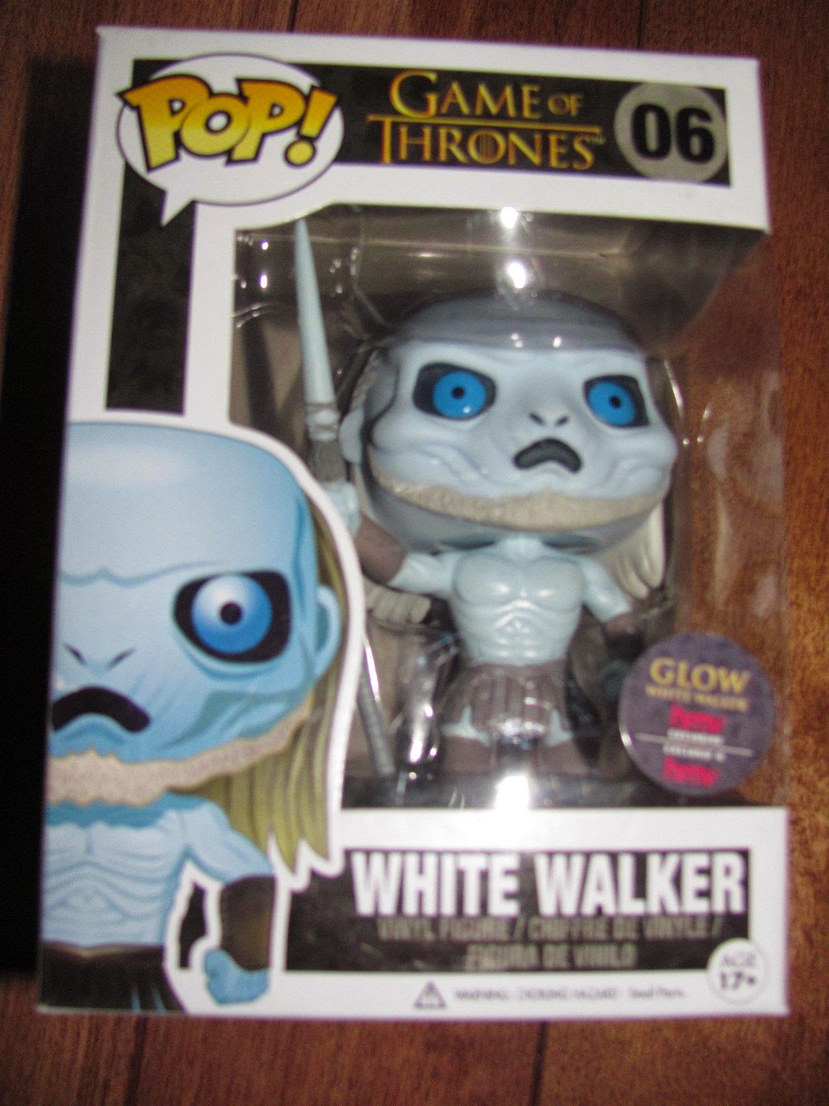 "Funko Pop! ""GITD"" White Walker [HMV Exclusive]"