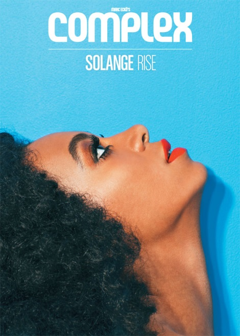 Solange Knowles Complex Magazine Cover by JUCO