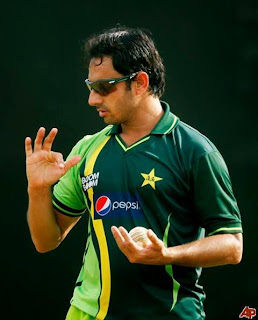 Spin bowler 'Saeed Ajmal' reduced his weight 5 kg WOWww Dashing -Pakistan Celebrities