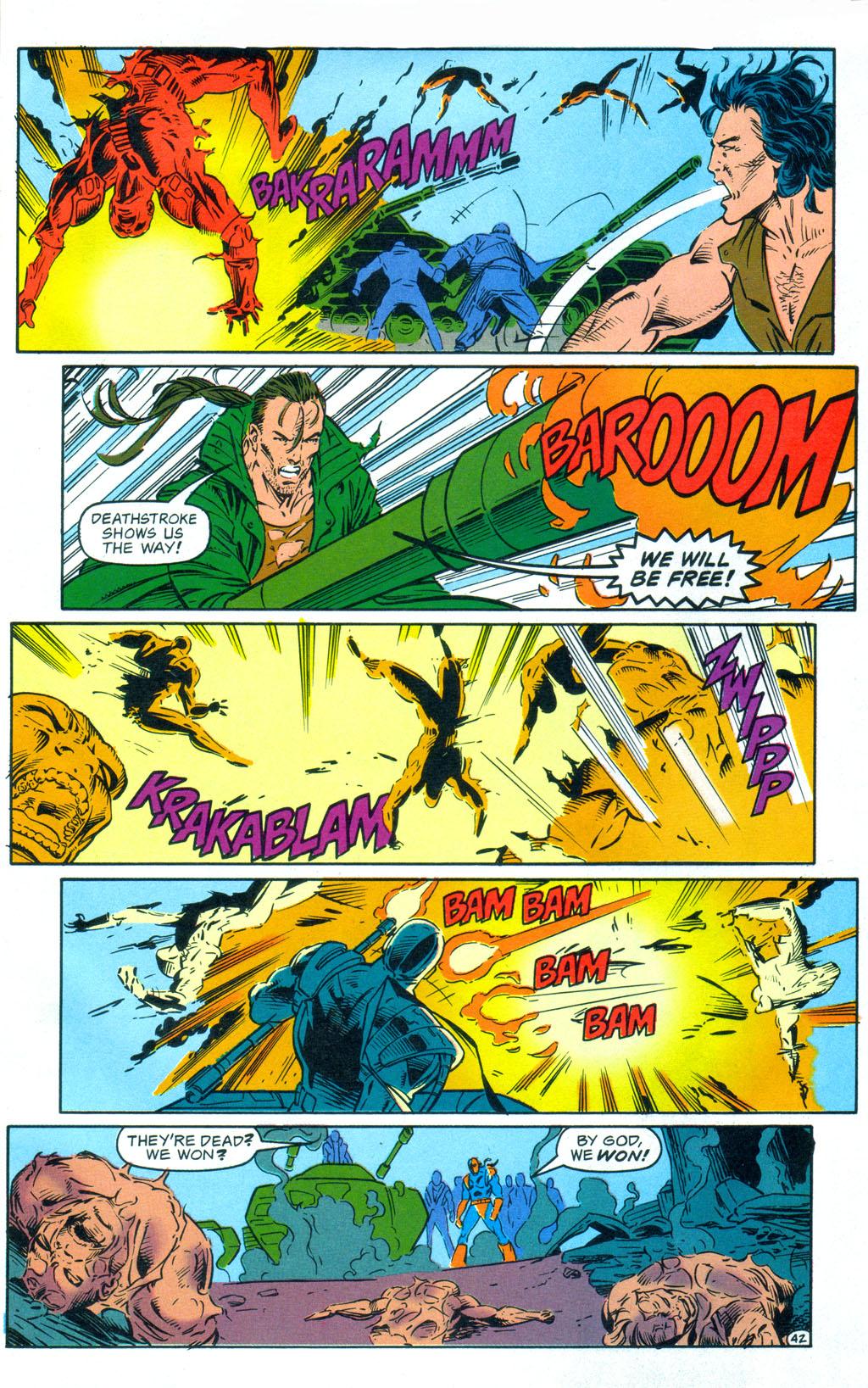 Deathstroke (1991) Annual 3 #3 - English 43