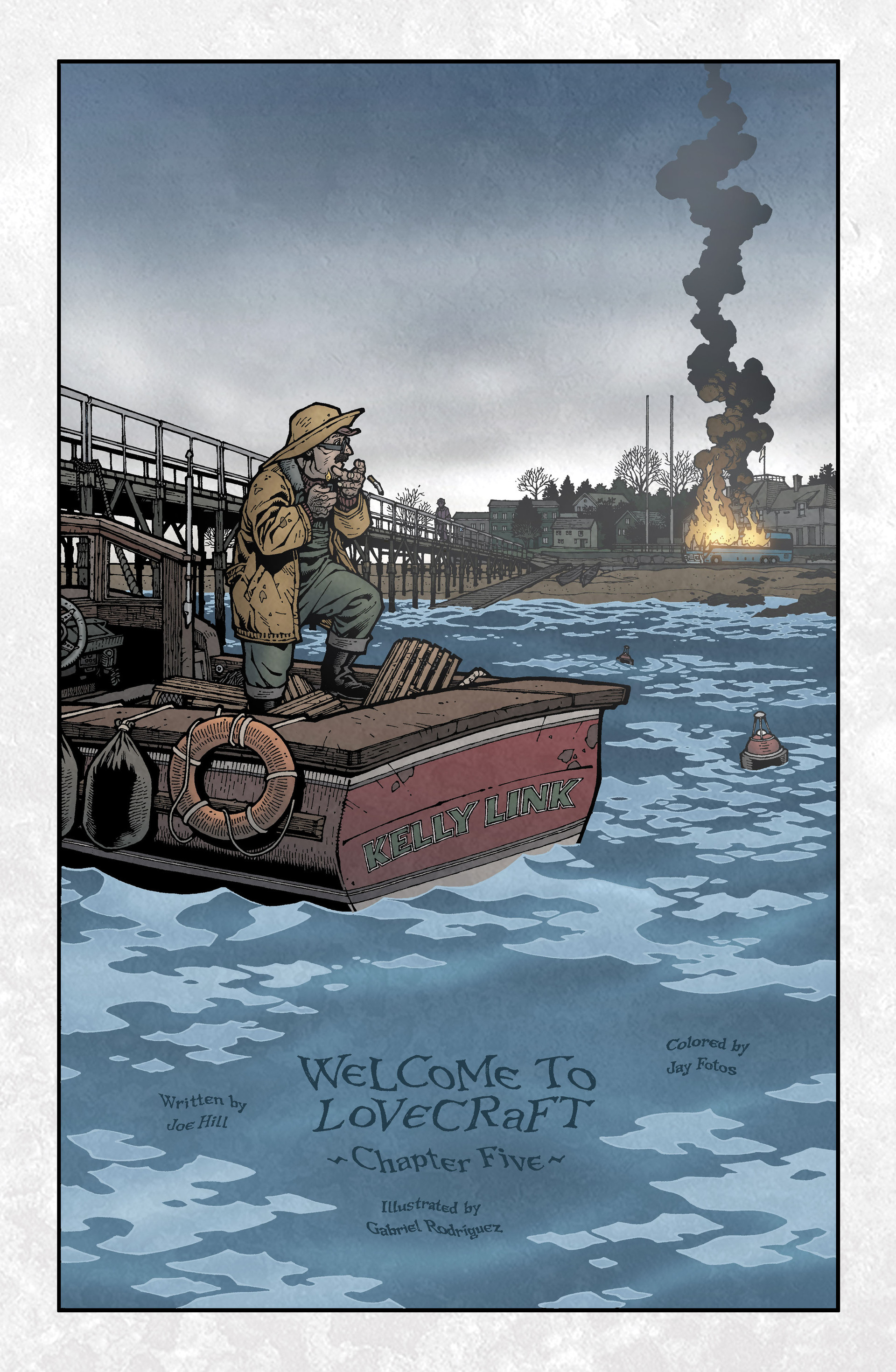 Locke & Key (2008) Issue #5 #5 - English 5