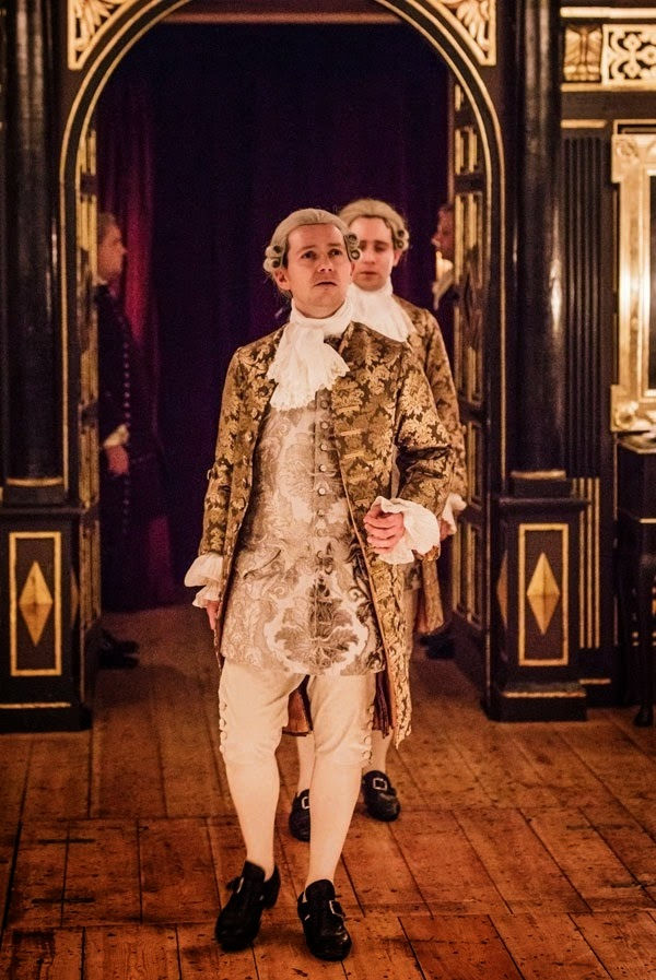 Iestyn Davies, Sam Crane - Farinelli and the King - Sam Wanamaker Playhouse - photo Marc Brenner