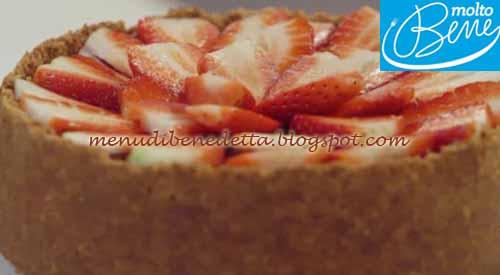New York Cheesecake ricetta Parodi per Molto Bene su Real Time