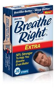 Amostra Gratis Tiras Nasais da Breathe Right