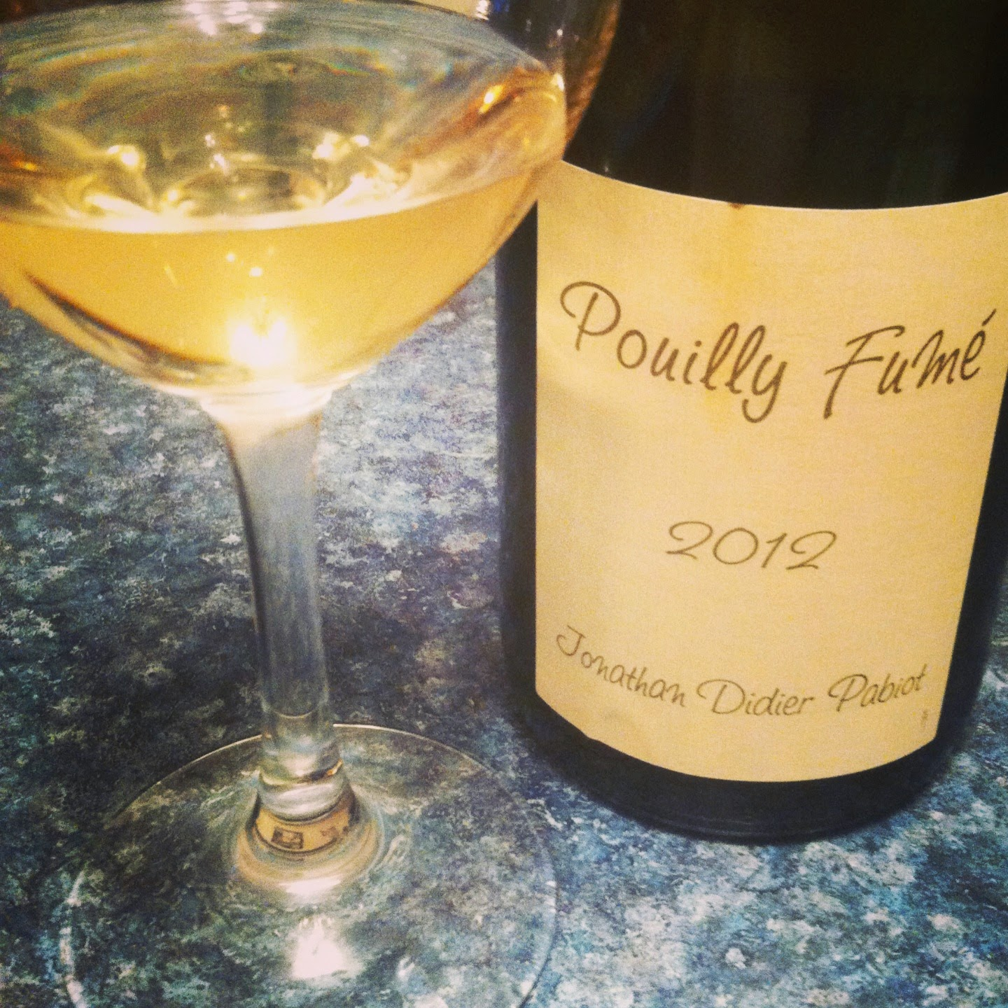 2012 Jonathan Didier Pabiot Pouilly Fumé is a nice expression of this type of #wine.