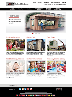 School Kitchens website homepage