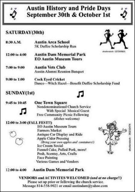 9-30/10-1 Austin History & Pride Days