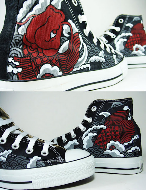 Annatar Custom Shop Hand Painted Made to Order Shoes & Clothing