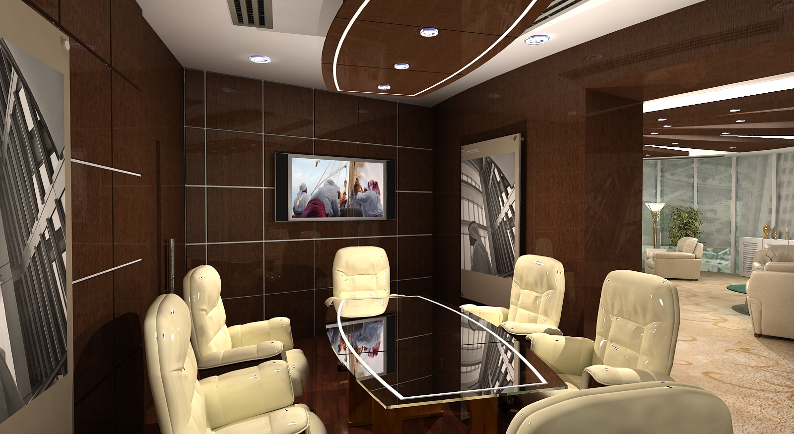Gurooji Design ADIA CEO 39 S Office Interior