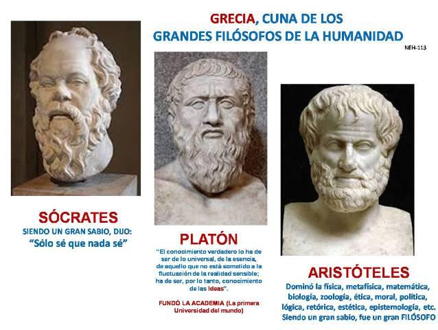 Resultado de imagen para GRECIA CUNA DE LA FILOSOFIA