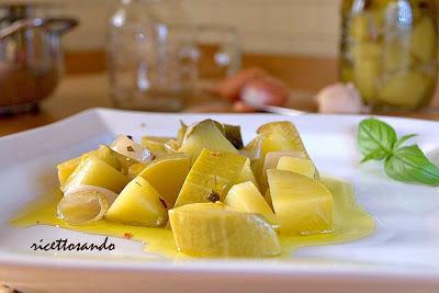 ricetta di Antipasto di zucchine sottovetro