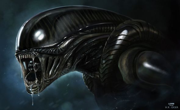 Dan Luvisi deviantart ilustrações digitais fantasia filmes quadrinhos cultura pop Alien
