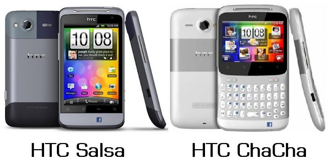HTC Salsa & HTC Chacha - Upcoming HTC social smartphones