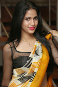 Lavanya Tripathi glam pics in saree-thumbnail-14