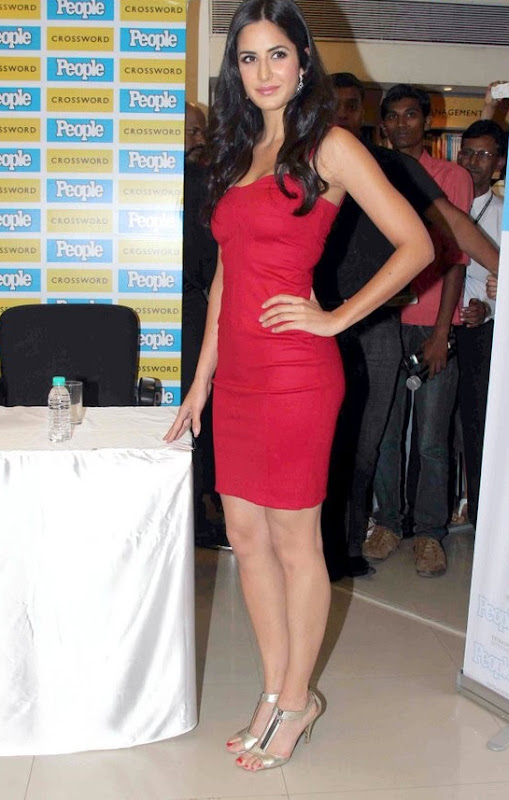 Spicy Katrina Kaif StillsKatrina Kaif  Peoples Magazine Launch Party cleavage