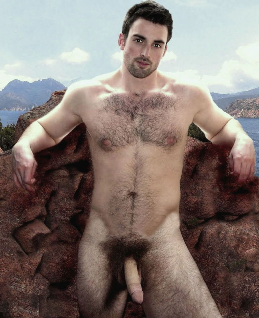 Hairy Men Lover Hunks In The Great Outdoors