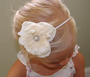 Niña de la Flores, Peinados, Moños