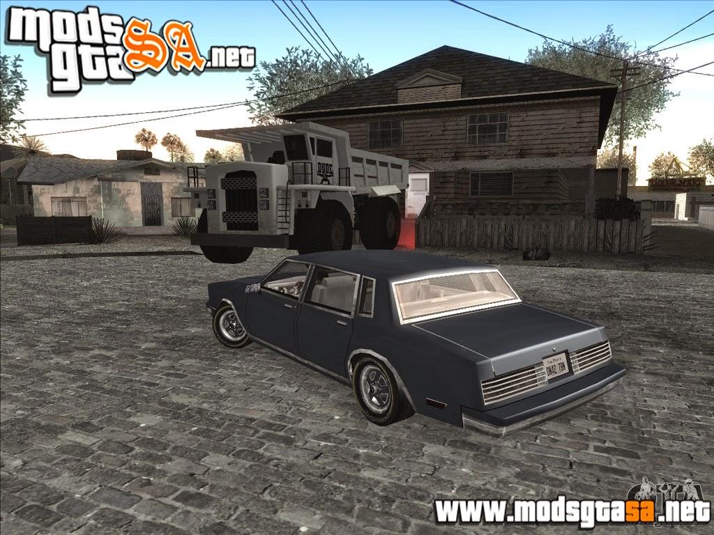 SA - Mod Personal Car na Grove Street