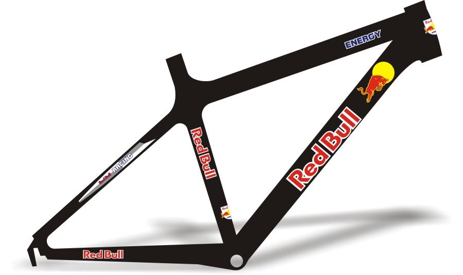 Armario Antiguo Restaurado ~ Stickers Design Adesivo Bike Red Bull