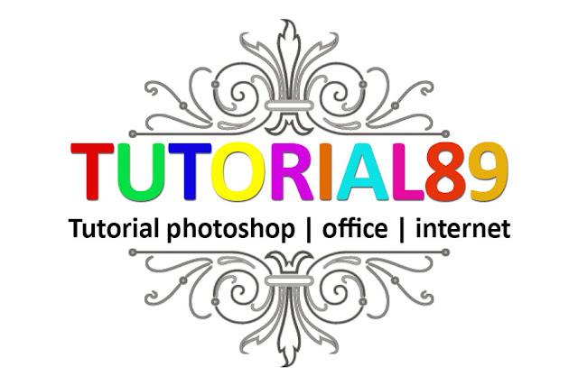 Cara membuat tulisan full color dengan photoshop