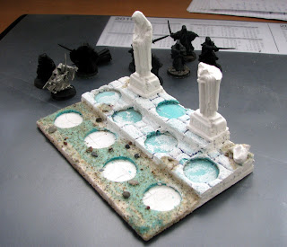 nazgul diorama army base