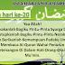Doa Harian Bulan Ramadhan | Doa Hari Ke-20