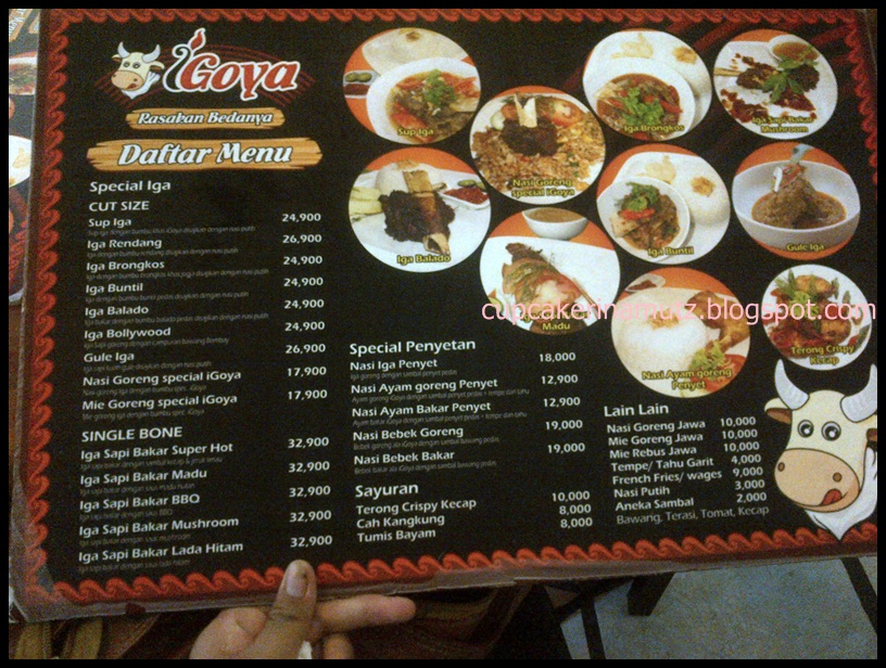 Kuliner jogja igoya rina chabbymutz for Z kitchen jogja menu