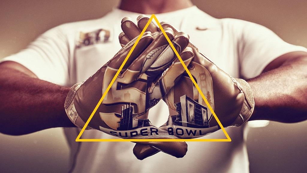 more photos 86bc8 d27b1 Nike está celebrando el Super Bowl 50 de la NFL con la presentación de una  deslumbrante colección que destaca combinaciones especiales de colores  negros y ...