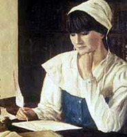 an introduction to the life of anne bradstreet Anne bradstreet background anne bradstreet was one of the very first women to publish any poetry or works of literature in america she was a puritan, and so she believed in life after death, and put her hope in this belief.