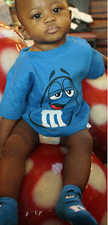 blue M&M toddler tee viktorviktoriashop.com