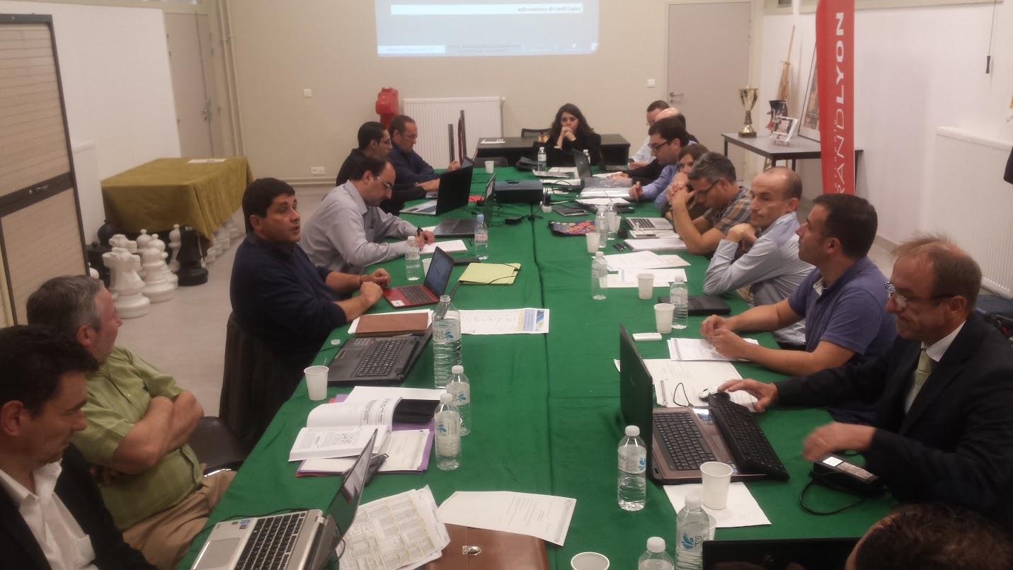 La réunion du Comité Directeur fédéral à Lyon des 7 et 8 novembre - Photo ©  FFE